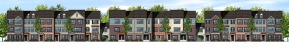 front elevation multi-family
