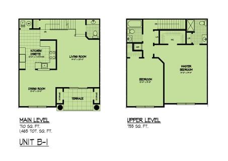 b-1 manor floorplan