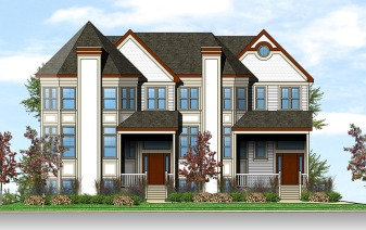 front manor home elevation