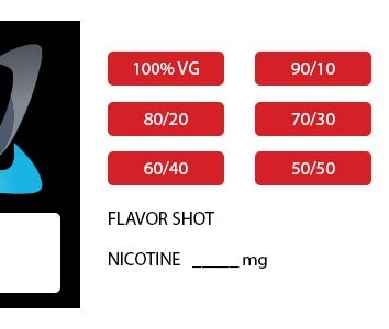vaporistic juice label