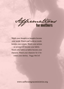 affiramtions for mothers