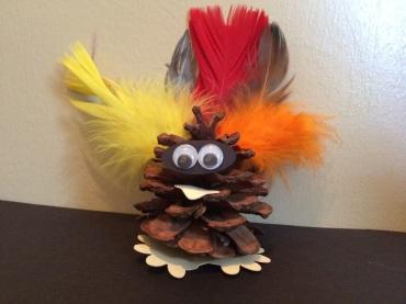 november sot{art} bag pinecone turkey
