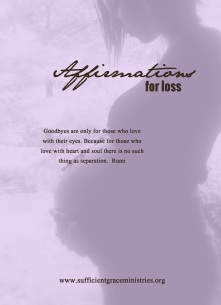 affiramtions for loss