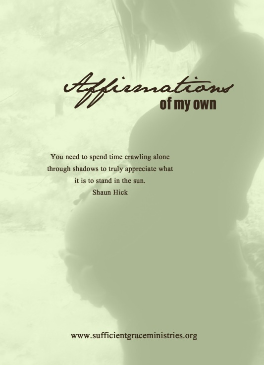 affiramtions of my own